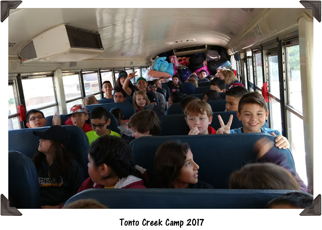 Tonto Creek Camp 2017