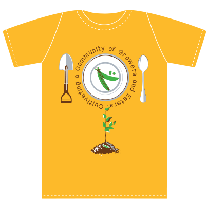Scholars with Shovels to Spoons Yellow T-shirt