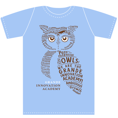 Owl Words T-shirt