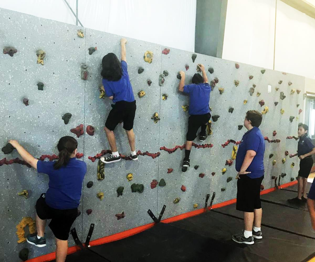 Rockwall in the Gym