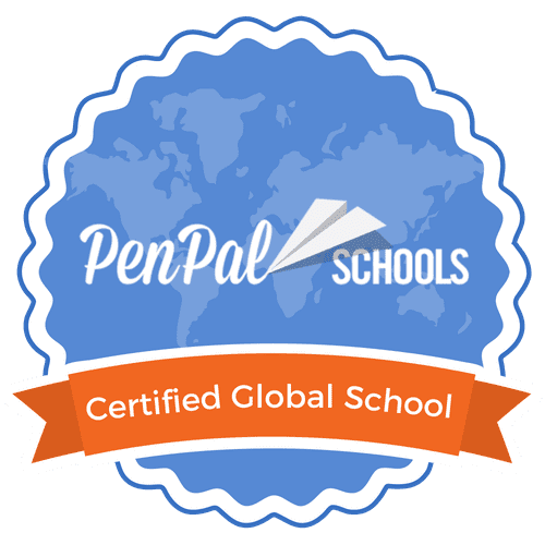 PenPal Schools Certified Global School Badge